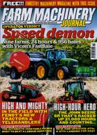 Farm Machinery Journal Magazine Issue NOV 20