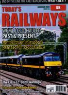 Todays Railways Uk Magazine Issue NOV 20