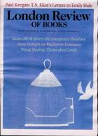 London Review Of Books Magazine Issue VOL42/20