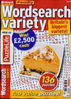 Family Wordsearch Variety Magazine Issue NO 63