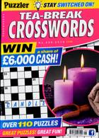 Puzzler Tea Break Crosswords Magazine Issue NO 299