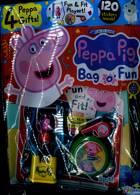 Peppa Pig Bag 0 Fun Magazine Issue NO 133