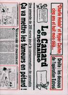 Le Canard Enchaine Magazine Issue 08