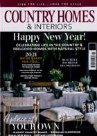 Country Homes & Interiors Magazine Issue JAN 21