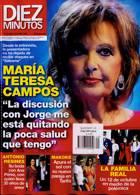 Diez Minutos Magazine Issue NO 3609