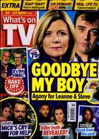 Whats On Tv England Magazine Issue 21/11/2020