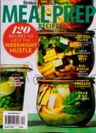 Bhg Specials Magazine Issue MEAL PREP