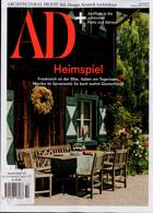 Architectural Digest German Magazine Issue NO 10