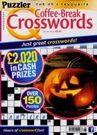 Puzzler Q Coffee Break Crossw Magazine Issue NO 98