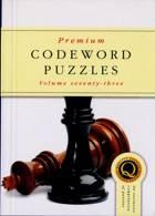Premium Codeword Puzzles Magazine Issue NO 73