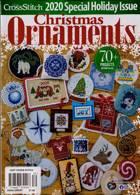 Just Cross Stitch Magazine Issue XMAS ORNMT