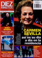 Diez Minutos Magazine Issue NO 3610