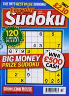 Everyday Sudoku Magazine Issue NO 177