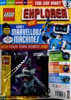 Lego Explorer Magazine Issue NO 1