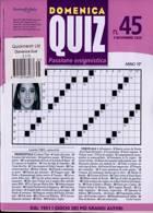 Domenica Quiz Magazine Issue NO 45