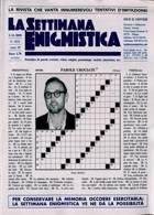 La Settimana Enigmistica Magazine Issue NO 4624