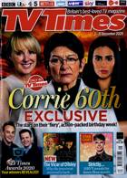 Tv Times England Magazine Issue 05/12/2020