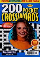 200 Pocket Crosswords Magazine Issue NO 65