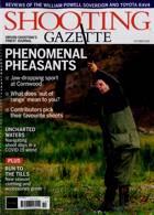 Shooting Gazette Magazine Issue OCT 20