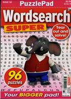 Puzzlelife Wordsearch Super Magazine Issue NO 32