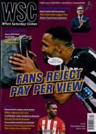 When Saturday Comes Magazine Issue DEC 20