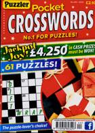 Puzzler Pocket Crosswords Magazine Issue NO 444