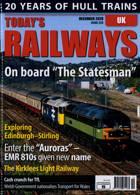 Todays Railways Uk Magazine Issue DEC 20