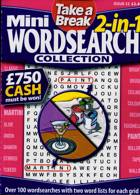 Tab Mini 2 In 1 Wordsearch Magazine Issue NO 32