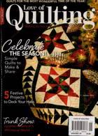 Love Of Quilting Magazine Issue NOV-DEC