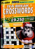 Puzzler Tea Break Crosswords Magazine Issue NO 300