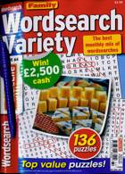 Family Wordsearch Variety Magazine Issue NO 64