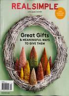 Real Simple Magazine Issue DEC 20
