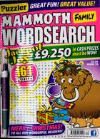 Puzz Mammoth Fam Wordsearch Magazine Issue NO 70
