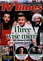 Tv Times England Magazine Issue 12/12/2020