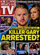 Whats On Tv England Magazine Issue 12/12/2020