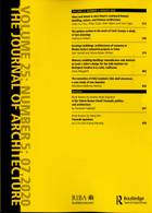 Journal Of Architecture Magazine Issue 68