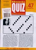 Domenica Quiz Magazine Issue NO 47