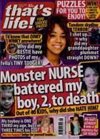 Thats Life Magazine Issue NO 48