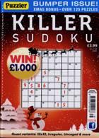 Puzzler Killer Sudoku Magazine Issue NO 178