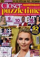 Closer Puzzle Time Magazine Issue NO 19