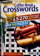 Puzzler Q Coffee Break Crossw Magazine Issue NO 99