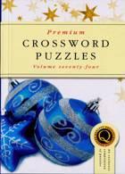 Premium Crossword Puzzles Magazine Issue NO 74