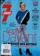 Tele 7 Jours Magazine Issue NO 3156