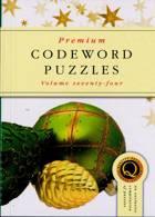 Premium Codeword Puzzles Magazine Issue NO 74