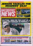 Motorsport News Magazine Issue 07/01/2021