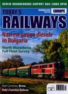 Todays Railways Europe Magazine Issue DEC 20
