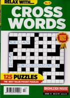 Relax With Crosswords Magazine Issue NO 13