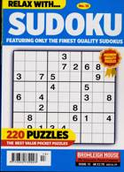 Relax With Sudoku Magazine Issue NO 13