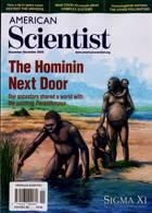 American Scientist Magazine Issue NOV-DEC