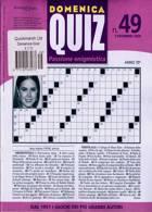 Domenica Quiz Magazine Issue NO 49